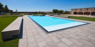 PISCINE CON BORDO SFIORO TRILOGY